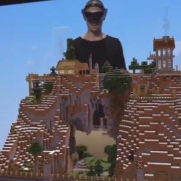 Minecraft Hololens Demo auf der E3 2015